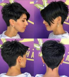 Trendy Very Short Haircuts for Women 2020 Trends Trendy Very. - Trendy Very Short Haircuts for Women 2020 Trends Trendy Very Short Haircuts for - Short Layered Haircuts, Cool Short Hairstyles, Pixie Hairstyles, Thick Hair Haircuts, Short Haircuts Women, Trending Haircuts For Women, Pixie Haircut For Thick Hair, School Hairstyles, Everyday Hairstyles