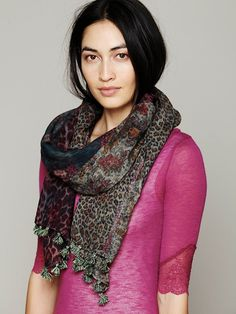 Patchwork Scarf at Free People Clothing Boutique