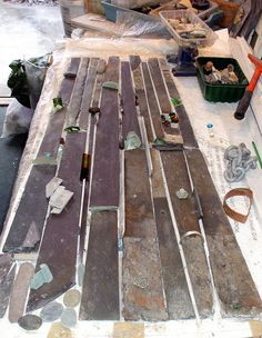 Nock layout for a large table