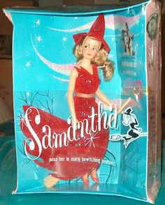 1960s Ideal Doll of Elizabeth Montgomery as Samantha Stephens from Bewitched! IN ORIGINAL BOX!
