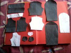 Eu costuro , você costura: PAP de Tilda de jaqueta jeans - PARTE 2 - A JAQUET...
