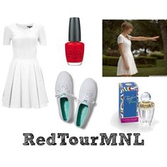 """RedTourMNL"" by ebronadine on Polyvore"