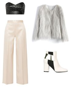Untitled #47 by alisha-demosthenes on Polyvore featuring polyvore, Toga, Chicwish, The Row, Pollini, fashion, style and clothing