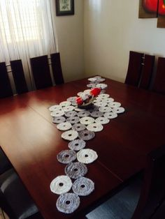 Resultado de imagen para pinterest caminos de mesa crochet