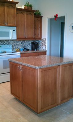 After Complete Kitchen Refacing