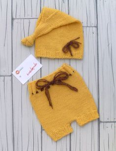 Handmade Newborn Photo Props Newborn Set Pants di RobertaCreations