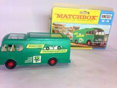 Lesney Matchbox Racing Car Transporter King Size K-5 with Original Box