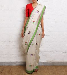 Chanderi Saree Indian Attire, Indian Ethnic Wear, Indian Style, Chanderi Silk Saree, Cotton Saree, Indian Dresses, Indian Outfits, Indian Clothes, Indian Sarees