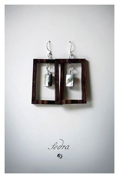 A personal favorite from my Etsy shop https://www.etsy.com/listing/100248757/geometric-earrings-wood-earrings-natural