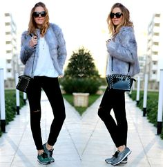 Michael Kors Bag, Aldo Shoes, Marc By Marc Jacobs Necklace, Bonprix Jeans, Bonprix Coat, Mango Sweater