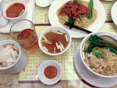 Ho Hung Kee - Affordable Michelin Star Dining in Hong Kong |  #HongKong #noodles