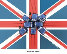 UK & EU. Cartoon by Niels Bo Bojesen: http://www.cartoonmovement.com/cartoon/27295