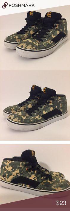 170787f0925a76 Etnies RVM Mid Camo Skateboard Shoes Size 9.5 Men s Etnies RVM Mid  Skateboard Shoes in the