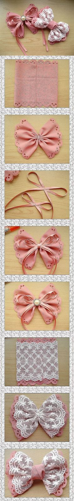 How to make hair bows by jwbuisman