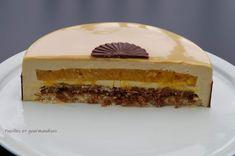 Entremet Praline, Dacquoise, Chocolat Valrhona, Cheesecake, Deserts, Pie, Fruit, Sweet, Passion