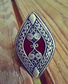 Arabian Bedouin Silver Vintage Ring Hand by ZamarutJewel on Etsy, $99.99