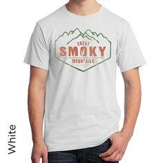 Great Smoky Mountains National Park Vintage T-Shirt North Carolina Blue Ridge 926 by BluejackClothing on Etsy