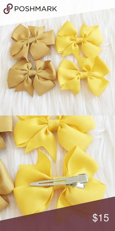 Matching Sets of Hair Clips Super cute matching set of hair clips perfect for your little mini me! New, never been worn. Reasonable offers always accepted. Bundle more to save more 💖✨ Accessories Hair Accessories
