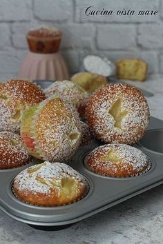Italian Desserts, Mini Desserts, Vegan Desserts, Italian Recipes, Cupcakes, Cupcake Cakes, Muffin Recipes, Cake Recipes, Vegan Gains