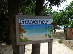 Anse du Gouverneur is one of the most beautiful undeveloped beaches on the island!