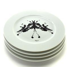 Fitzsu; PSYCHOPLATES Set of 4 Rorschach Test Plates