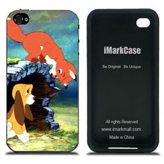 Disney The Fox and the Hound Tod and Coppe Cases Covers for iPhone 4/4S Series IMCA-CP-0560
