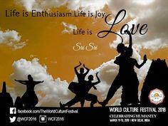 #Life is #enthusiasm. #Life is #joy. Life is #love.