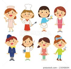 인물 일하는 여성 - 스톡일러스트(No.23048694). 39,400,000장 이상의 로열티 프리 스톡사진, 일러스트, 벡터 중에서 여러분이 원하시는 이미지를 찾아보세요. 매일 추가되는 새롭고 놀라운 이미지를 다운로드하여 즐기세요. Community Helpers, People Illustration, Planner, Refashion, Disney Characters, Fictional Characters, Kindergarten, Doodles, Clip Art
