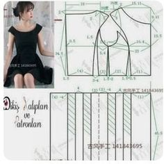 ❤ to support us, please like and comment❤ Dress Sewing Patterns, Blouse Patterns, Sewing Patterns Free, Sewing Tutorials, Clothing Patterns, Couture Sewing, Collar Pattern, Pattern Cutting, Pattern Drafting