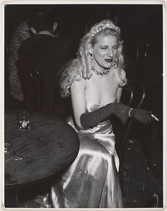 After the Opera... At Sammy's Night Club on the Bowery, 1930. Weegee Weegee