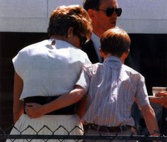 Diana and son Harry.....so sweet