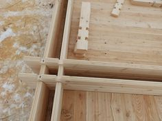 Double wall The double wall of dry shaped timber or laminated veneer lumber with a heater provides comfortable heat-insulating characteristics, at a temperature of ° C to ° C. Double wooden wall consists of two sets of parallel bars section