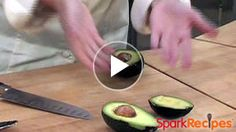 Still digging out avocado pits with a spoon? Stop the insanity! Watch how to EASILY remove an #avocado pit and slice/cube it like a real pro--so your recipes look PRETTY! | via @SparkPeople