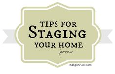 Tips for Staging Your Home