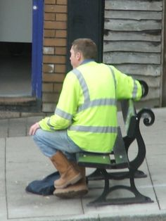 Hi Vis Workwear, Rigger Boots, Work Wear, Sexy Men, Image, Style, Outfit Work, Swag, Work Attire