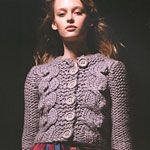 Free Pattern: Twinkle Best Friend cabled cardigan - Canadian Living