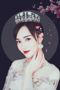 Tiffany Tang, Princess Weiyoung, Cute Korean Girl, Chinese Actress, Star Art, Portrait Art, Female Art, Art Sketches, Wallpaper Backgrounds