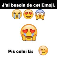 L'emoji parfait The Funny, Emoji Movie Memes, Emoji Quotes, Funny Emoji, Funny Quotes, Funny Memes, Funny Profile Pictures, Funny Pictures, Emoji People