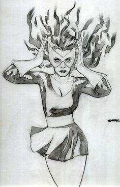 Marvel Girl by Ryan Sook