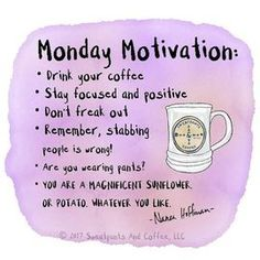 Friday coffee · monday motivation quotes · funny motivation · monday motivation and humour. Monday Morning Quotes, Monday Motivation Quotes, Work Quotes, Daily Quotes, Me Quotes, Motivational Quotes, Inspirational Quotes, Monday Morning Motivation, Funny Motivation