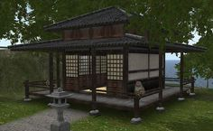 Today we released two new small buildings. We got several requests for traditional Tea Houses and now your wait is over. We present to you ...