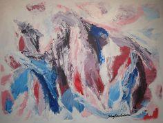 Maleri, En kunstners vandring 60x80 cm