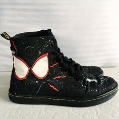 a339dc68db93 13 Awesome Marvel Inspired painted sneakers shoes Vans Converse ...