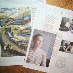 Illustrator Tom Duxbury