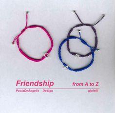 FRIENDSHIP..... PaolaDeAngelis Design handMADEit <3 https://www.facebook.com/PaolaDeAngelisDesign/
