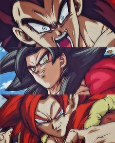 Gogeta Super Saiyan 4, Gogeta And Vegito, Goku Y Vegeta, Son Goku, Goku Drawing, 4 Tattoo, Z Arts, Dragon Ball Gt, Anime Demon