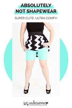 Add a little bit of whimsy to your wardrobe with Undersummers Slipshorts, rash guard panty shorts for dresses and skirts. No more panty lines. No more chafing. Just feel fun and free, comfortable and confident in these shortlettes from undersummers.com.