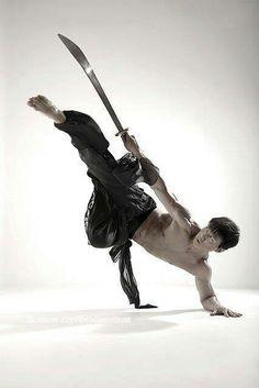 Chinese Kung Fu - broad knife