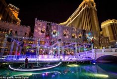 The Venitian Ice Skating Rink - Las Vegas, NV  #Yuggler #KidsActivities #IceSkating
