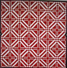 Cupcakes 'n Daisies: Red and White Tribute Quilt
